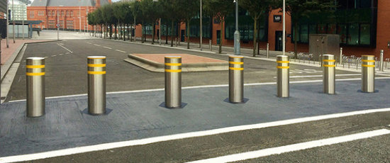 Bollards Welcome To Frontier Pitts